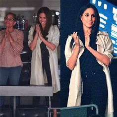 #New Meghan Markle and her mother, Doria Ragland, attended Invictus Games' closing ceremony  (30th September)  .  Meghan was in a luxury box with her mother and her friends, Jessica Mulroney and Markus Anderson;  Prince Harry also briefly joined his girlfriend and her friends in the box❤️  #britishroyalfamily #meghanmarkle #princeharry #instaroyals #motheranddaughter #invictusgames #IAM #royalnews