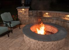 Create a new level of beauty, functionality, and interest to your backyard with an outdoor fireplace. It will be a favorite place for cozy and intimate relaxing & entertaining. An outdoor fire pit is a wonderful way to enjoy your backyard all year long, providing heat and an inviting ambience.