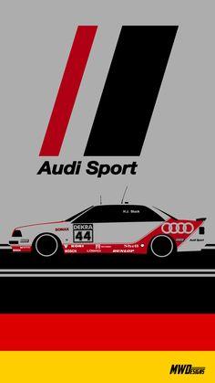 Stuck Audi