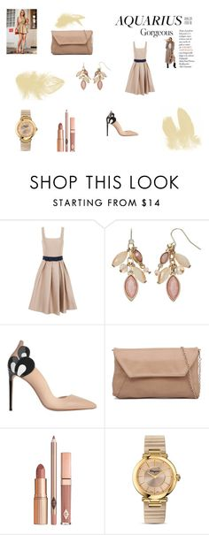 """34"" by zerinac931 ❤ liked on Polyvore featuring Chi Chi, Simply Vera, Nicholas Kirkwood, Dolce Vita, Salvatore Ferragamo, fashionhoroscope and stylehoroscope"