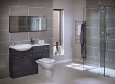 The Bathroom in this grey bathroom ideas uk looks outstanding without being added with other bathroom colours. Description from limbago.com. I searched for this on bing.com/images