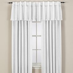 The Subtle And Stylish Kendall Sheer Window Curtain Panel