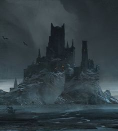 Dark Castle by Juhani Jokinen