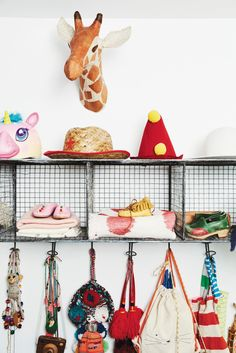 cute shelving for a kid's room