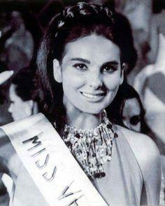 Mariela Pérez Branger - Miss Departamento Vargas se Convierte en Miss Venezuela 1967
