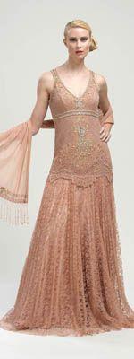 Vintage Flapper Dress. SO gorgeous!