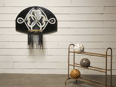 Literally Balling: Victor Solomon Transforms Basketball Backboards Into Delicate Stained Glass