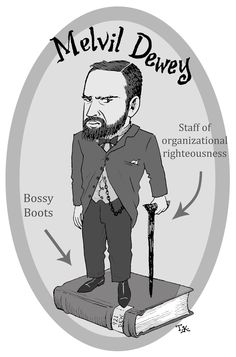 Portrait of Melvil Dewey Library Page, Library Lessons, Library Books, Librarian Humor, Cat Reading, Library Science, Serin, Little Free Libraries, Elementary Library