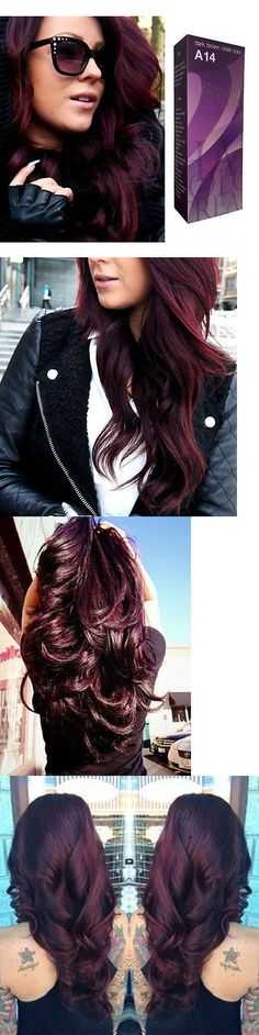 Berina A14 Dark Brown Violet, HAIR DYE COLOR CR... - Exclusively on #priceabate #priceabateHairColor! BUY IT NOW ONLY $10.99