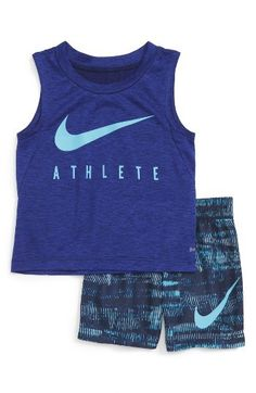 Infant Boy's Nike Tank Top & Shorts Set Nordstrom
