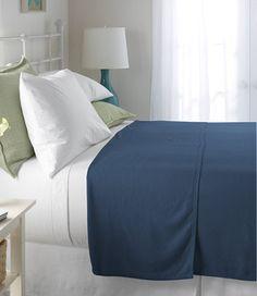 L.L.Bean Maine-Made Cotton Twill Blanket