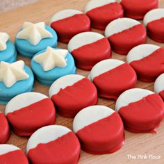 cookie cake and other 4th of July treats