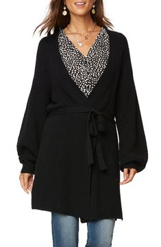 Types Of Sleeves, Sleeve Types, Female Poets, Petite Size, Sophisticated Style, Wrap Style, Sweater Cardigan, Cashmere, Nordstrom