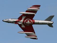 Hawker Hunter Patrouille Suisse
