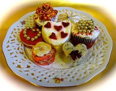 Decorating Teatime Sweets  Valentine's Day or any other festive occasion can be dressed up with easy to prepare decorated sweets. One need not be a professional to enhance beautiful treats.