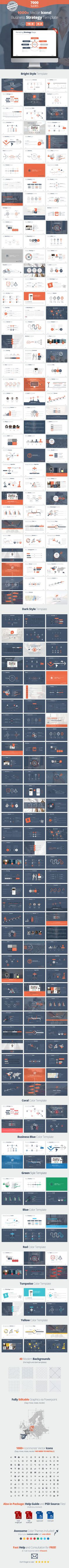 Business Strategy Google Slides Template This presentation has been developed on the basis of theories on the comprehension of content, which means that these slides will TALK instead of you. Using this incredibly flexible and beautiful package, you will definitely achieve the result you have always dreamed of.