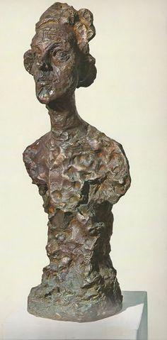 Alberto Giacometti Busto de Annette