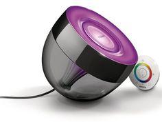Lampada LED LivingColors Iris di Philips per creare scenari colorati e personalizzati alle tue stanze   #lampada #design #colore