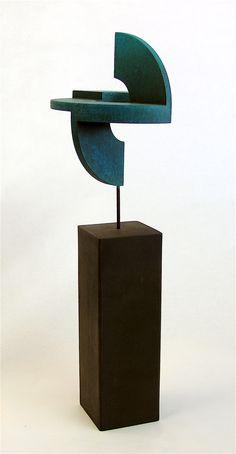 "RAMÓN URBÁN, E51 ""SECRETO ARTIFICIO XIII"", técnica mixta madera/hierro, 58x20 cm., 2013."
