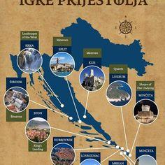 Game of Thrones locations Croatia! What are you waiting for?! #gameofthrones #gameofthronestour #kingslanding #croatia #fun #nature #split #dubrovnik #vetusitinera