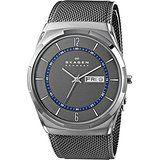Skagen Men's SKW6078 Melbye Grey Titanium Watch with Mesh Strap Price: USD 140.25 | UnitedStates