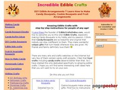Learn how to make candy bouquets – Candy Bouquet Designs books. Start Candy Bouquet and Gift Basket Business or Do it for a hobby!    http://ediblecraftsonline.com/ebook2/mybooks73.htm review  You Will Not Find Anything Like This On The Internet! Easy Step-by-step 259 Page Illustrated Guide For...