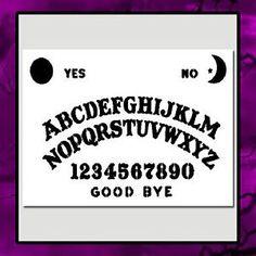 9 x 12 Ouija Spirit Board Stencil Craft Airbrush Supernatural Ghost Halloween…