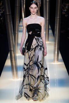 Armani Privé Spring 2015 Couture Fashion Show - Sarah Brannon (OUI)