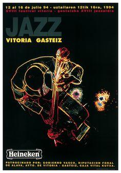 Cartel Festival de Jazz de Vitoria 1994
