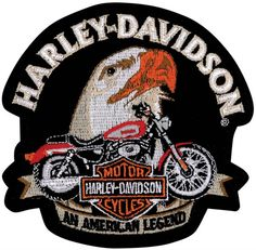 """Vintage 70s /""""My Daddy Rides a HARLEY-DAVIDSON/"""" USA Made Patch Biker Motorcycle"""