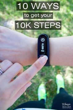 Meeting your fitness goals & losing weight is easier than you think! 10 ways to hit 10,000 steps a day, without making major changes to your daily routine. (AD)