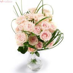 Light Pink Roses - Buchet din trandafiri roz