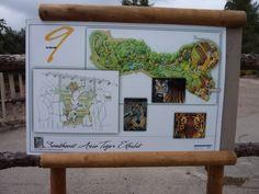 San Diego Zoo Safari Park Tiger Trail (Version 2.1) San Diego Zoo, Safari, Trail, Park, Signs, Shop Signs, Parks, Sign