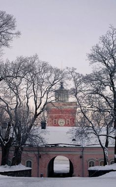 Suomenlinna fortress, Helsinki, Finland