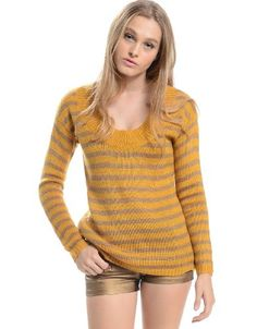 Shop ModDeals.com for Mustard Stripped Fall Oversized Cardigan in our cheap trendy Tops category. Find trendy cheap clothing for women, discount shoes, jewelry sales, perfume & cheap accessories for w