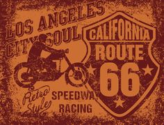 american motorcycle driver retro style eps8 vector art by a1vector, via Behance