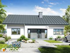Dom w kostrzewach 4 Rural House, Pergola, House Design, Bungalow, Outdoor Decor, Home Decor, Website, Modern Houses, Trendy Tree
