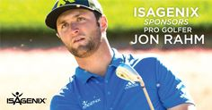 Exciting news! Isagenix is proud to announce our partnership with PGA Tour rising star Jon Rahm!