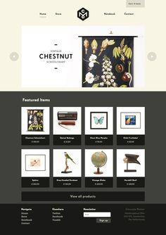 http://www.concrete-matter.com/ Like the 2 tone black gloss and matte