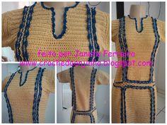Vestidos em Croche -
