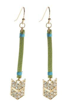Aliana Drop Earrings {Two Color Options} SwellCaroline.com