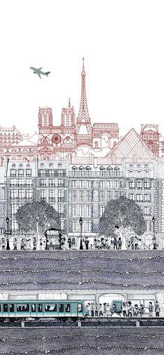 layers of paris - Paul Imrie