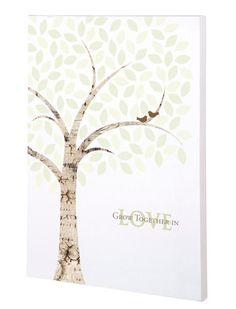 Remember your special day with this signing tree guest book alternative. Express your creativity and create a beautiful canvas with family and friends that will later become a treasured part of your h