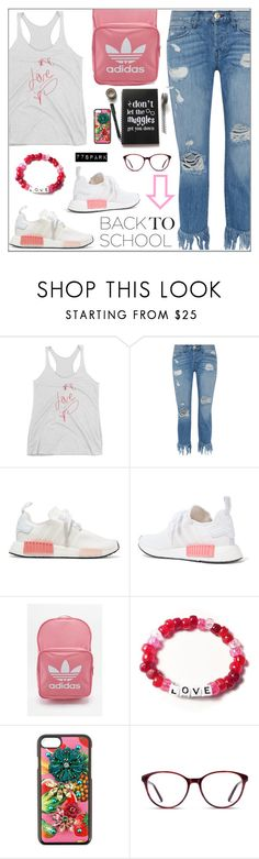 """Go Back-to-School Shopping! (40)"" by samra-bv ❤ liked on Polyvore featuring 3x1, adidas Originals, adidas, Dolce&Gabbana and GlassesUSA"