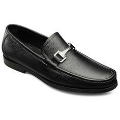 26d11552a Firenze Italian Loafers - Italian Made Moc-toe Bit Slip-on Mens Dress Shoes  by Allen Edmonds