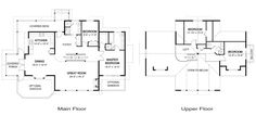 the floorplan - so simple. The exterior is also beautiful