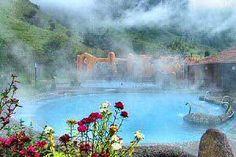 Papallacta Hot Springs, Ecuador