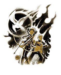 Katniss and Peeta, @Misty Everett