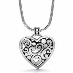 Have this. ..it's my favorite! Contempo Heart Necklace available at #Brighton