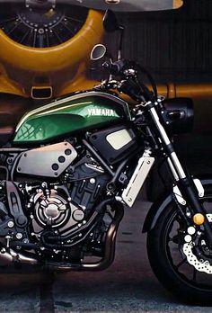 Yamaha XSR700 Cafe Racer Design By Kustomeka Motorcycles Caferacer